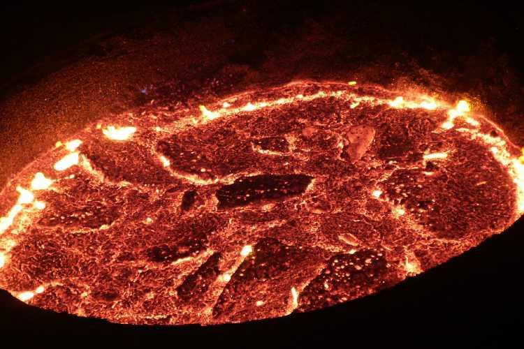 Molten raw iron